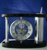 Черные часы типа Antique верхней части таблицы металла