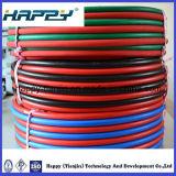 Шланги заварки PVC усиленные волокном твиновские