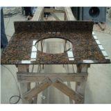 Vanità poco costosa di pietra naturale del granito per la cucina