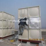 Réservoir meilleur marché du traitement des eaux FRP du plastique SMC de Chine