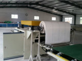 Doppeltes seitliches Furnier-Blatt/hoch Glanz Belüftung-Film/Papier-lamellierende Maschine