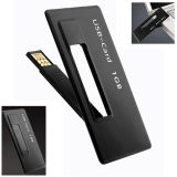 Slim Style Custom Card Shape USB Flash Drive com 2 GB de capacidade