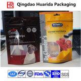 Stand up sac de plastique stratifié l'emballage pour le PET/nourriture pour chien