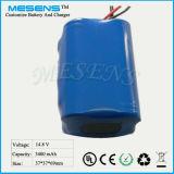 14.8V 3400mAh Lithium-Ionenbatterie-Satz