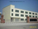 Oficina de processamento plástica pré-fabricada da construção de aço