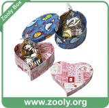 판지 상자/Kraft 엄밀한 보통 상자/마분지 서류상 선물 상자 (ZC001)
