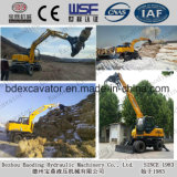 Hot Sale Baoding Machinery Sugarcand/Wood Loader with Bucket