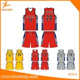 Uniforme feito sob encomenda do basquetebol da impressão do desgaste do esporte de Digitas da camisa