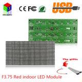 F3.75 P4.75 LED rosso che fa pubblicità al formato dei pixel del modulo 64X32 del segno è modulo dell'interno della visualizzazione di LED di 304X152mm
