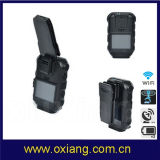 Hot Selling Built in GPS WiFi Bluetooth 120degree 3G 4G Body Worn Video Police Camera
