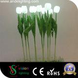 Materielle LED Tulpe-Lichter Garten-Dekoration PU-