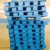 Pallet di plastica materiale durevole economico resistente di sicurezza 4-Way HDPE/PP
