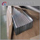 Preço ondulado galvanizado A653 da folha da telhadura de ASTM