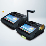 POS Android Lotería terminal con impresora incorporada, NFC / RFID Reader, Wi-Fi, 3G