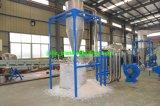 Plastikaufbereitenmaschinen-überschüssige Beutel, die Zeile waschen