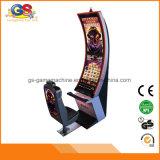 Curva de la pantalla de juego Casino Slot Machine precio para la venta