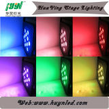 12*10W RGBW 4in1 LEDの平らな標準ライト