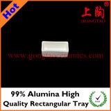 Поднос высокого качества глинозема 99% прямоугольный
