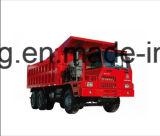 De Vrachtwagen HOWO van de Mijnbouw van Sinotruk HOWO 70 Ton van de Vrachtwagen van de Stortplaats