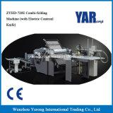 Combi-Faltende Maschine des Fabrik-Preis-Zyhd720e mit elektrisches Steuermesser