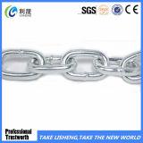 Cadena de eslabones de hierro soldada de acero galvanizado