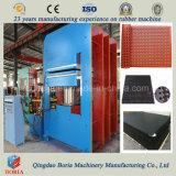 Tipo di blocco per grafici automatico macchina di trattamento di vulcanizzazione idraulica della pressa del piatto di gomma