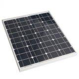 Panneau solaire mono 60W dans la tension 18V pour la batterie 12V