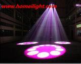 패턴 LED 광속을%s 가진 DMX 이동하는 맨 위 광선