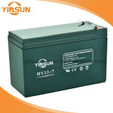 12V 7ah ZonneBatterij voor het Draagbare Systeem van het Zonnepaneel