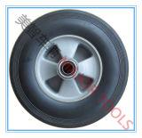 rueda de goma Semi-Neumática 10X2.5 para los carros del carro