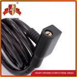Kabel-Kombinationsschloss-Fahrrad-Verschluss-Motorrad-Verschluss mit Schlüsseln
