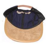 Cappello del comitato del bordo 5 della pelle scamosciata ricamato cotone all'ingrosso