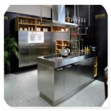贅沢なカスタムステンレス鋼の食器棚