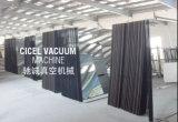 Máquina de pintar de aluminio confiable del vacío de la farfulla del magnetrón del espejo de Cicel
