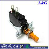 2 interruttore di pulsante elettronico di posizione 16A Spst per il riscaldatore