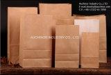 La alta calidad no tóxica se levanta bolsos del pan del papel de Kraft