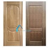自然な、人工的なAsn/Sapelli型のベニヤHDFのドアの皮