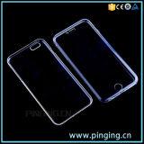 Claro Transparente lleno de teléfono de TPU para iPhone 6/6s Plus