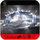 Lumière en caoutchouc de chaîne de caractères du fil IP65 pour la décoration extérieure