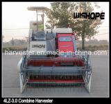 Doppelter Dreschmaschine-Zylinder-horizontale Mittellinien-Fluss-Reis-Erntemaschine