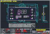 Модуль Va отрицательный LCD черной земли