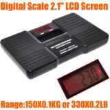 Escala eletrônica de múltiplos propósitos portátil do peso de corpo da escala de 150kg Digitas