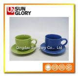 Bd004の陶磁器のティーカップの受皿の磁器のコーヒー・マグ