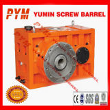 Caja de velocidades para un solo tornillo barril