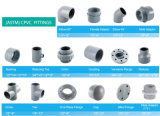 bride d'une seule pièce de l'ajustage de précision de pipe de 1-1/4inch 1-1/2inch 2inch Sch80 CPVC