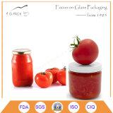 De aangepaste Kleine Kruiken van het Glas met Kappen, de Containers van het Voedsel