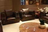 Sala de estar Móveis de luxo Sofá de couro