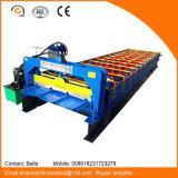Machine de fabrication de carreaux de panneau métallique Dx 840 avec système de contrôle PLC