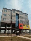 Casa prefabricada de los edificios de la estructura de acero