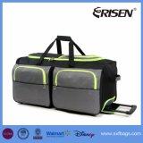 Водоустойчивый, котор катят мешок Duffel багажа перемещения отдыха способа вагонетки